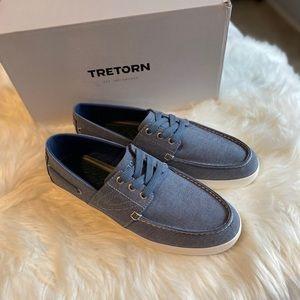 *NEW* TRETORN Motto Boat Shoe Blue Denim